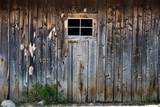 Wood Wall with Window