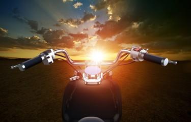 Biking Travel Concept