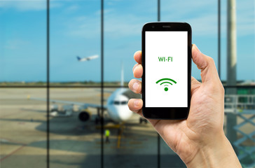 Connect wifi on the airport
