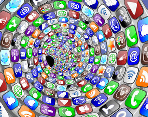 social media tunnel circles 2