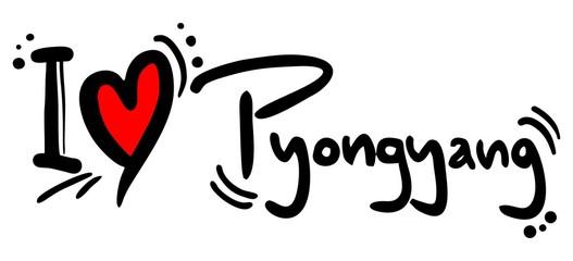 Pyongyang love