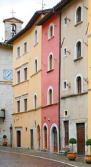 Glimpse of Visso, Province of Macerata - Italy