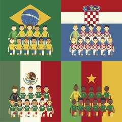 Brazil 2014 Group A