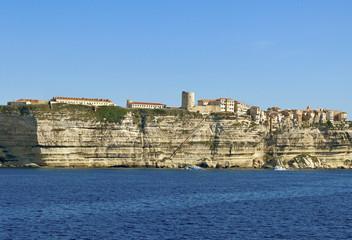 View to the Bonifacio.