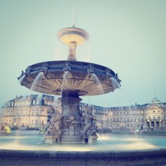 Schlossplatz Square Stuttgart Germany