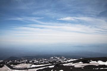 Mount Etna surroundinngs, Sicily.