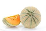 melon frais avec quartier - 66939140