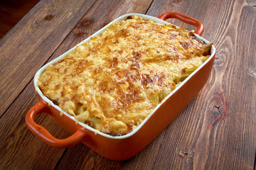 Pastitsio -  a Greek and Mediterranean baked pasta