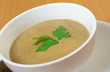 Creamy musroom soup