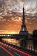 Tour Eiffel et Pont Bir-Hakeim - Paris