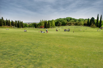 "Summer park. This is ""Parco Sigurta"", in northern Italy."