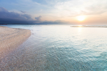 Beach on Gili