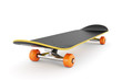canvas print picture - Skateboard isolated on white background
