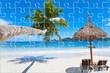puzzle plage des Seychelles