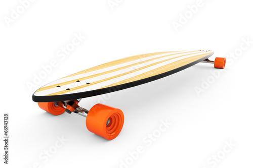 Leinwandbild Motiv Longboard / Skateboard