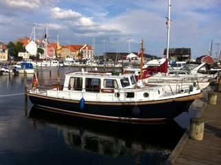 Hafen Faaborg in Dänemark