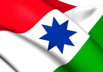 Flag of Achtkarspelen, Netherlands.