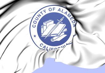 Seal of Alameda County, USA.