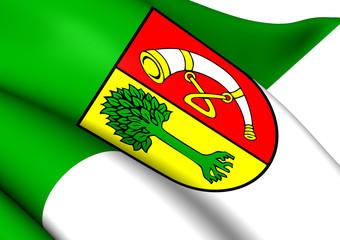 Flag of Friedrichshafen, Germany.