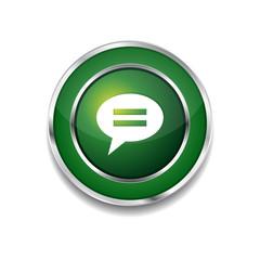 Message Circular Vector Green Web Icon Button