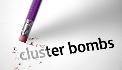Eraser deleting the concept Cluster Bombs