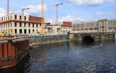 Schlossbaustelle im Herzen von Berlin