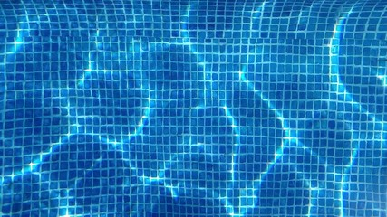Swimming pool underwater - background