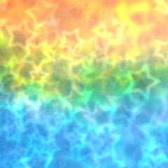 Colorful blurred party stars background