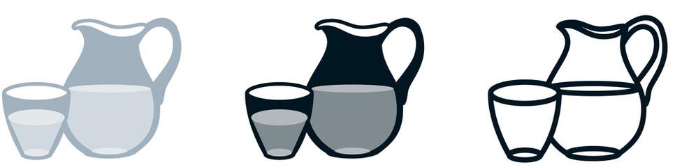 picto carafe d'eau
