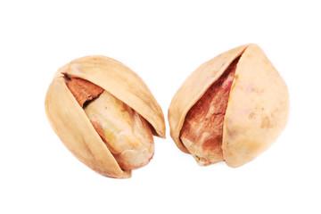 Tasty salted pistachios.