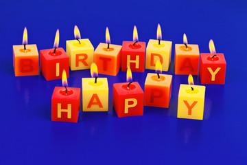 Kerzern Happy Birthday