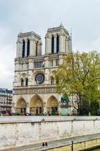 Paris, France. Notre-Dame