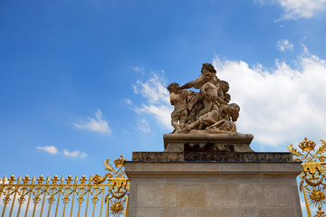 Detail of Versailles palace