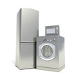 refrigerator, washing machine and microwave oven