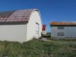 小屋と草地
