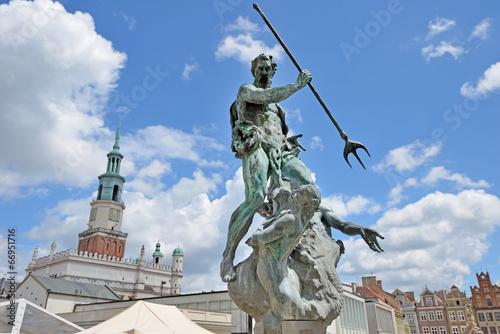 Fountain of Neptune -Poznan, Poland