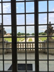 Nymphenburg castle, garden's view