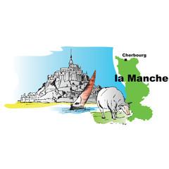 Manche Cherbourg Mont Saint Michel mouton voilier  Normandie 2