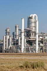 petrochemical industry plant