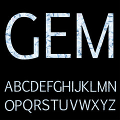 gem light letters