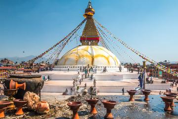 Budhanath Temple in Kathmandu Nepal