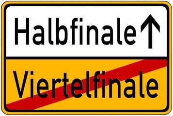 Halbfinale->Viertelfinale