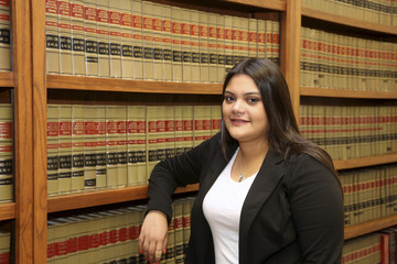 Hispanic Woman Lawyer