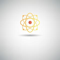 Atom symbol,vector