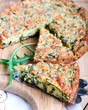Green quiche