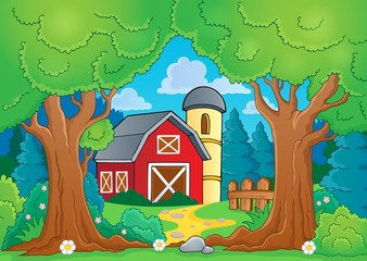 Tree theme with farm 3