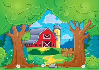 Tree theme with farm 4