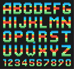 Colorful Alphabet Set