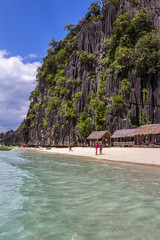 Banol Beach in Palawan Philippines