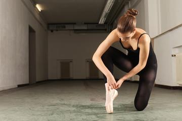 beim Ballett Training